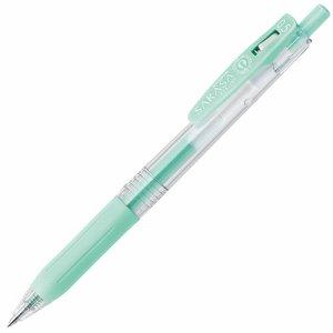 ゼブラ JJ15-MKBG ゲルインクボールペン サラサクリップ 0.5mm ミルクブルーグリーン