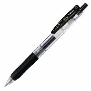 ゼブラ JJB15-BK ゲルインクボールペン サラサクリップ 0.7mm 黒