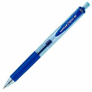 三菱鉛筆 UMN105EW.33 ゲルインクボールペン ユニボール シグノ RT エコライター 0.5mm 青 1セット10本