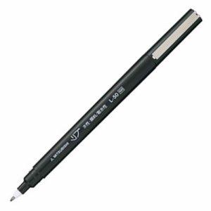 三菱鉛筆 L50.24 水性サインペン リブ極細 0.5mm 黒