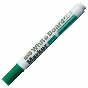 TS-WBBGT-G ホワイトボードマーカー 中字角芯 緑 12本セット 汎用品