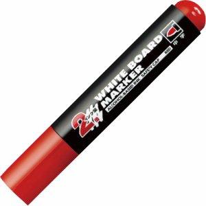 コクヨ PM-BL102R ホワイトボード用マーカー(中字・ロング筆記タイプ) 赤 10本セット