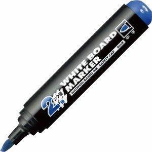 コクヨ PM-BL102B ホワイトボード用マーカー(中字・ロング筆記タイプ) 青 10本セット