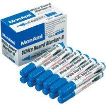 MONAMI 10502 ホワイトボードマーカーB 丸芯 青
