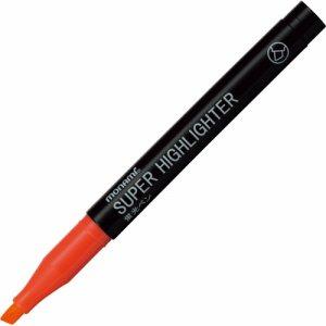 MONAMI 18403 蛍光ペン SUPER HIGHLIGHTER 橙