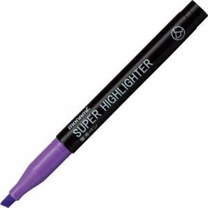 MONAMI 18406 蛍光ペン SUPER HIGHLIGHTER 紫