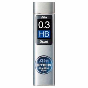 ペンテル C273-HB シャープ替芯 アイン シュタイン 0.3mm HB