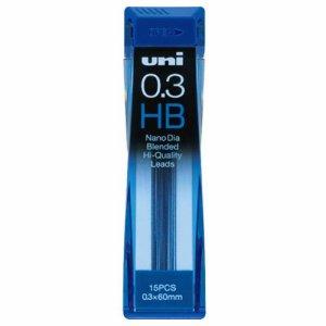 三菱鉛筆 U03202NDHB シャープ替芯 ユニ ナノダイヤ 0.3mm HB