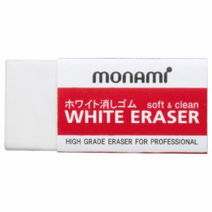 MONAMI 11414 ホワイト消しゴム 小