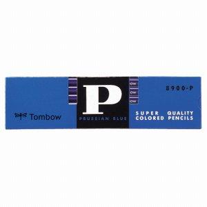 トンボ鉛筆 8900-P 青鉛筆 (藍色)