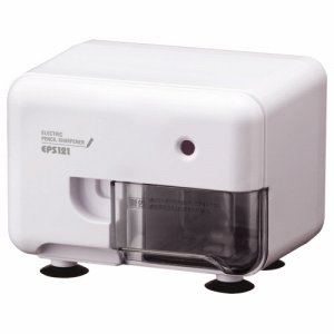 アスカ EPS121W 電動シャープナー ヨコ型 ホワイト