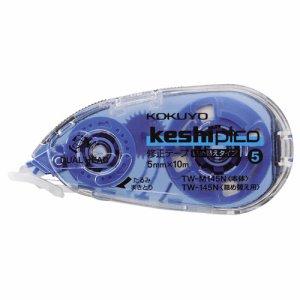 コクヨ TW-M145N 修正テープ(ケシピコ) 本体 5mm幅×10m 青