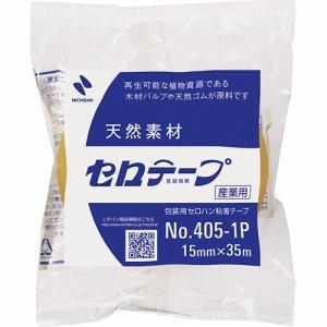 ニチバン 4051P-15 産業用セロテープ 大巻 15mm×35m