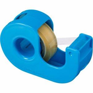 ニチバン CT-12DRB セロテープ 小巻カッター付 12mm×11M ブルー