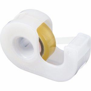ニチバン CT-15DRW セロテープ 小巻カッター付 15mm×9M ホワイト