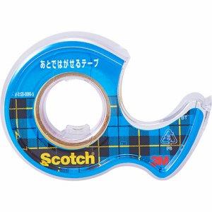 3M CA18-DS スコッチ あとではがせるテープ 18mm×7M