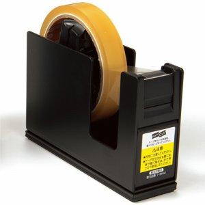 コクヨ T-SM111ND テープカッター カルカット(スチールタイプ) 大巻・小巻両用 黒 T-SM111D