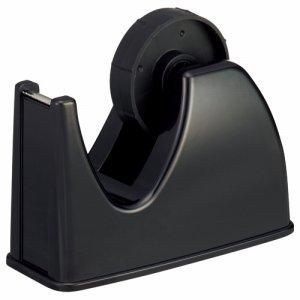 TGK-DS-BK テープカッター台 大巻・小巻両用 黒 10台セット 汎用品