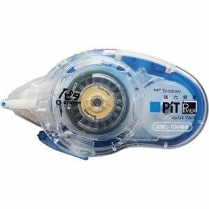 トンボ PN-IPM10BTU テープのり ピットパワーD お試し本体 8.4mm×10m