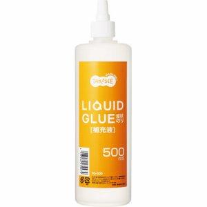 TG-500 液状のり 補充用 500ML 交換スポンジキャップ2個付 汎用品