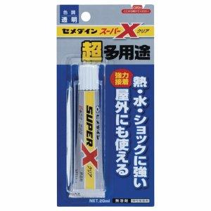 セメダイン AX-038 超多用途接着剤 スーパーX クリア 20ml