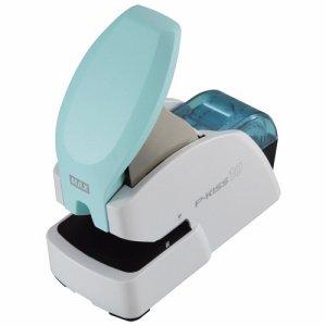 マックス PH10DS/AB 紙針ホッチキス P-KISS10 抗菌モデル 10枚とじ ホワイト