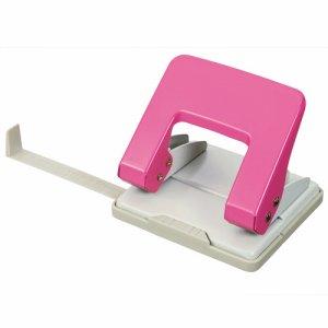 074-48 2穴パンチ 20枚穿孔 ピンク 汎用品