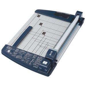 コクヨ DN-TR601 ペーパーカッター ロータリー式 チタン加工刃 60枚切 A3