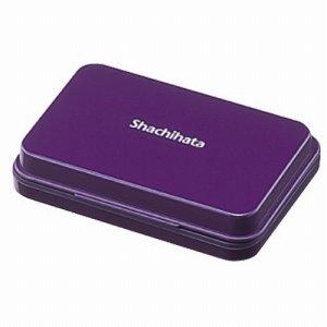 シャチハタ HGN-1-V スタンプ台 小形 紫