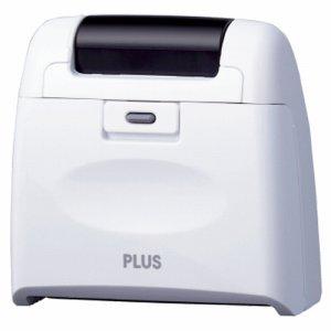 PLUS IS-510CMホワイト個人情報保護スタンプ ローラーケシポン ワイド 本体 ホワイト