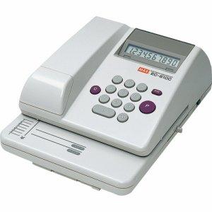 マックス EC-610C 電子チェックライタ 10桁 コードレス