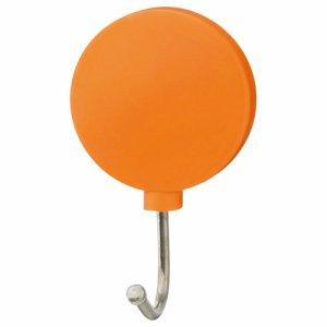 TEMF-OR カラーマグネットフック スイング 耐荷重約1KG 橙 汎用品