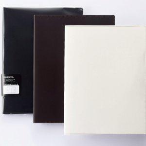 プロッシモ PRORLFA4WH リサイクルレザーファイル A4 ホワイト