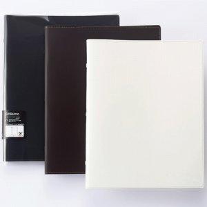 プロッシモ PROR30A4WH リサイクルレザーファイル A4 30穴 ホワイト
