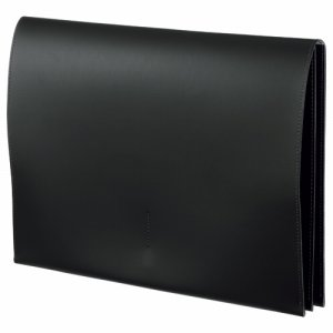 プロッシモ PRORSCA4BK リサイクルレザー スリムレザーケース A4 ブラック
