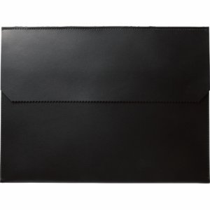 プロッシモ PRODFA4BLK リサイクルレザー ドキュメントフォルダ A4 ブラック
