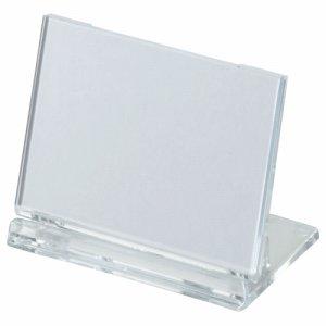 光 UC3-1 カード立て 可動式 W65×H45mm 透明