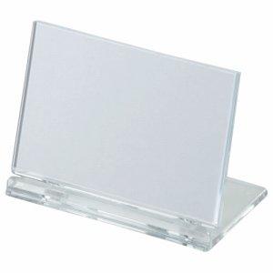 光 UC2-1 カード立て 可動式 W80×H50mm 透明