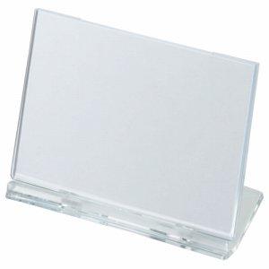 光 UC1-1 カード立て 可動式 W100×H65mm 透明