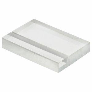 光 A235-1-6 透明アクリルカード立て W30×D20×H5mm