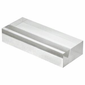 光 A592-1-6 透明アクリルカード立て W50×D20×H10mm