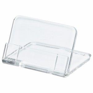 共栄プラスチック L-35-5 L型豆カード立 小 W35×H25mm 透明