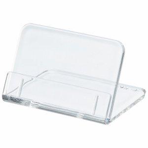 共栄プラスチック L-50-5 L型豆カード立 W50×H35mm 透明