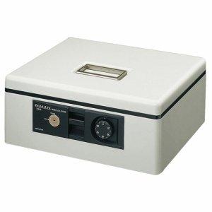 コクヨ CB-11M 手提ゲ金庫(ダイヤル錠付) A4 W360×D285×H150mm ライトグレー