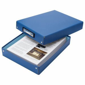 TSDTA4-B デスクトレー A4 青 汎用品