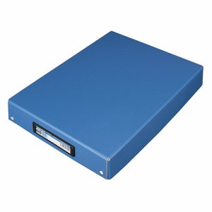 TSDTA4W-B デスクトレー A4 ワイド 青 汎用品