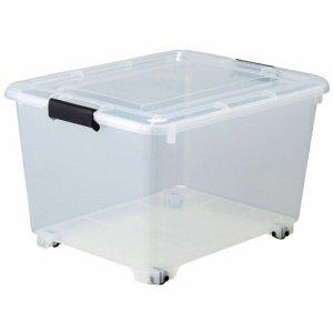サンカ Y-8050 コロ付クリアボックス