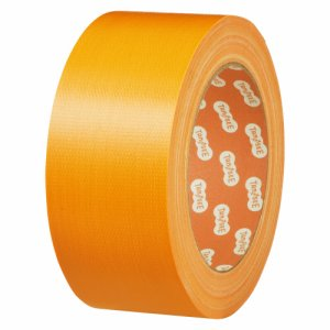 TSCC50YE 布テープ(カラー) 50mm×25M 黄 1巻 汎用品