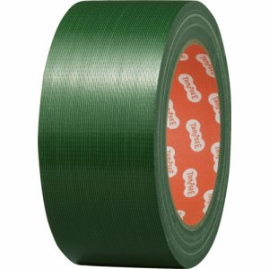 TSCC50GN 布テープ(カラー) 50mm×25M 緑 1セット(30巻) 汎用品