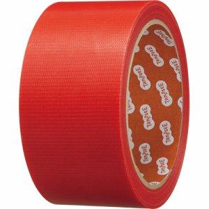 TGK-YJ-R カラー養生テープ 50mm×25M 赤 1巻 汎用品